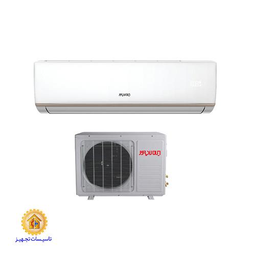 کولر گازی اسپلیت دیواری سرد و گرم 9000 ایران رادیاتور مدل IAC-09CHLFA